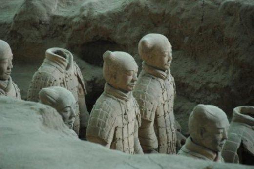 Marvel at Xian's terracotta warriors