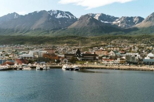 Embark from Ushuaia