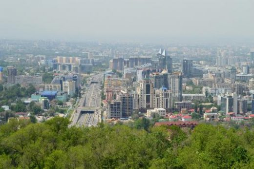 View of Almaty from Kok Tobe