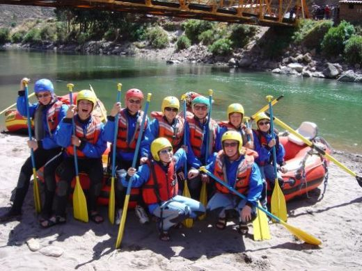 We will bond on the waters of the mighty Apurimac River