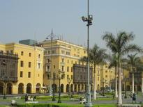 Lima's City Hall is representative of the colonial architecture around the city.