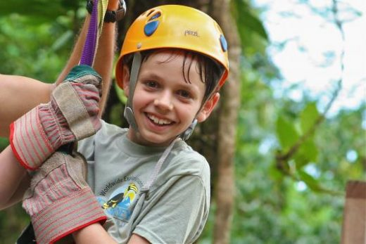 Have a blast on a zipline canopy tour