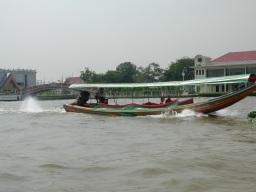Travel along the khlongs - the canals - of Bangkok