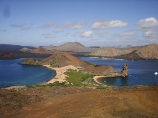 Visit the moon-like landscape of Bartolome Island
