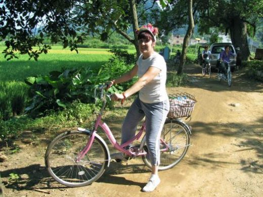Explore Yangshuo and the nearby countryside by bicycle