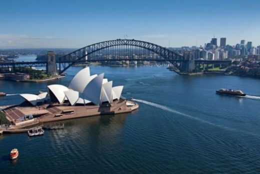See the famous Harbour Bridge and Opera House