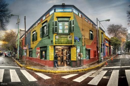 La Boca is the most iconic neighborhood of Buenos Aires
