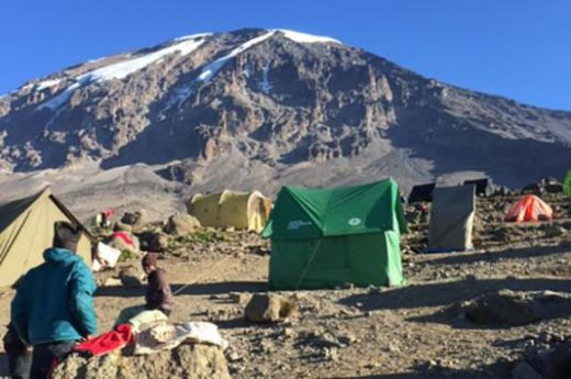 Rest at your Kilimanjaro camp
