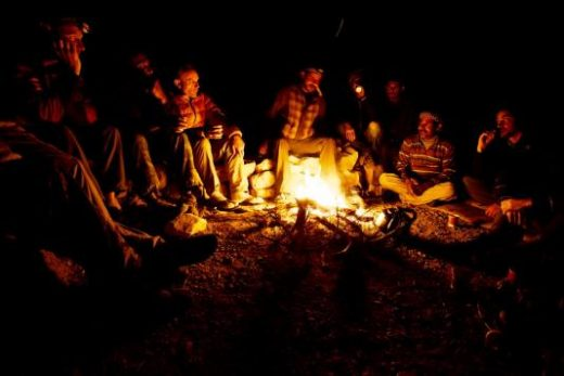 Enjoy classic campfires in the evenings