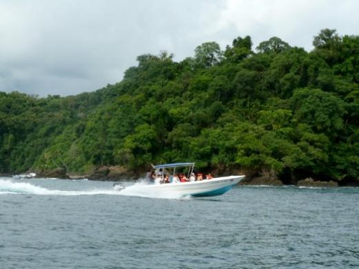 Travel by boat to Caño Island