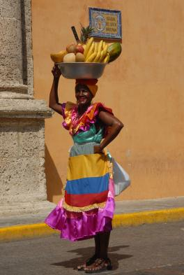 Beautiful colors of Cartagena