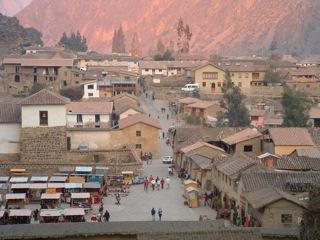 The colonial city of Cusco