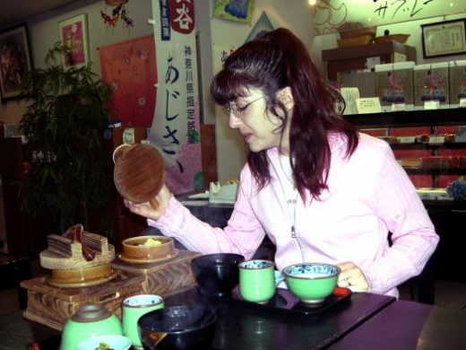 Enjoy a traditional Japanese meal while exploring Kyoto