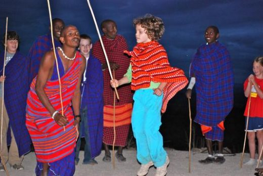 Jump'in with the Masai
