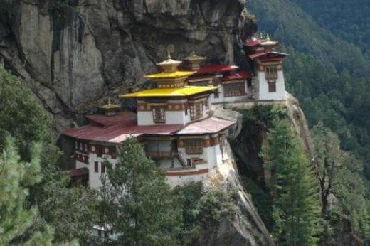 Tatksang Monastery near Paro