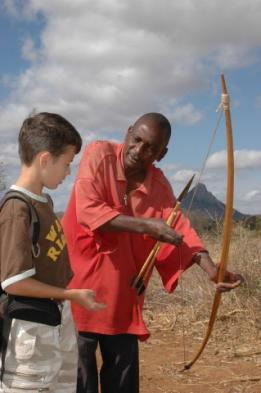 Learn the ways of the Massai