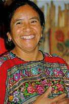 Traditional blouses -- or huipilis -- are woven and embrodered with designs that are distinctive for different Mayan villages.