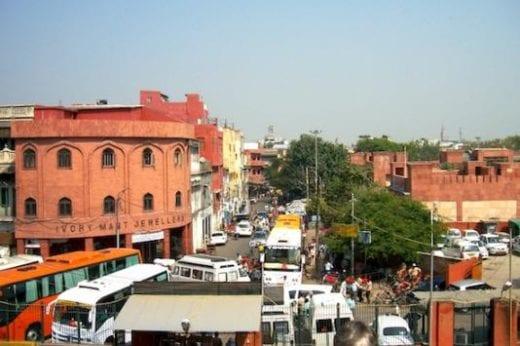 Bustling Delhi