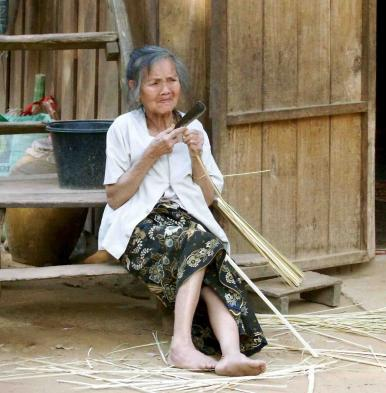 Meet villagers and learn about their lives