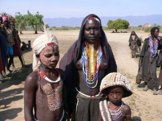 Visit the Erbore tribes