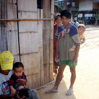 Meet villagers and talk with them about their lifestyles