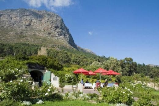 Drive to Franschhoek Valley today