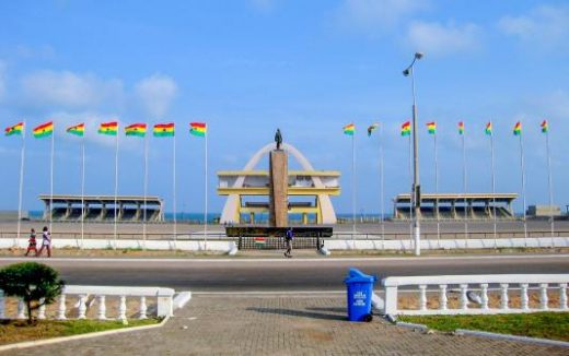 Welcome to Accra and Freedom Square