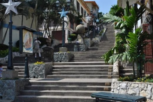Explore the charming neighborhood of Las Penas