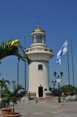 Lighthouse at Las Penas in Guayaquil