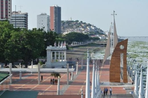 Explore Guayaquil's lovely waterfront Malecon