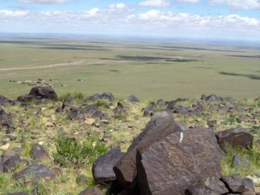 Petroglyphs found in the Gobi