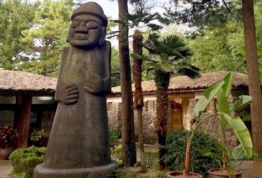 See the interesting statues at Hanlim Park