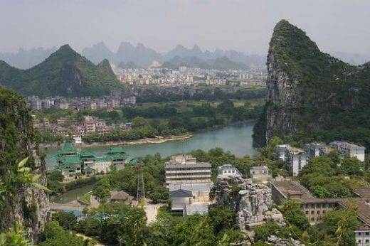 Picturesque town of Guilin