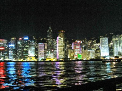 "Hong Kong's ""Symphony of Lights"""