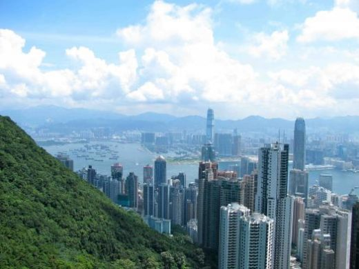 Take the tram up Victoria peak for fabulous city views