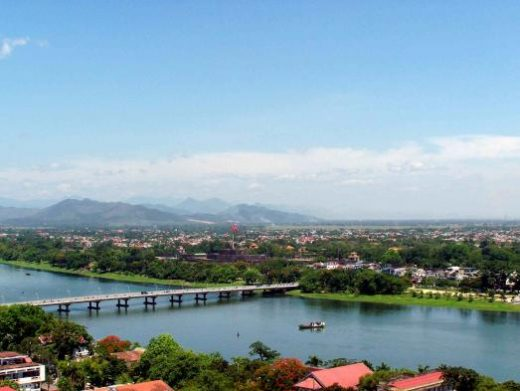 View of Hoi An from above
