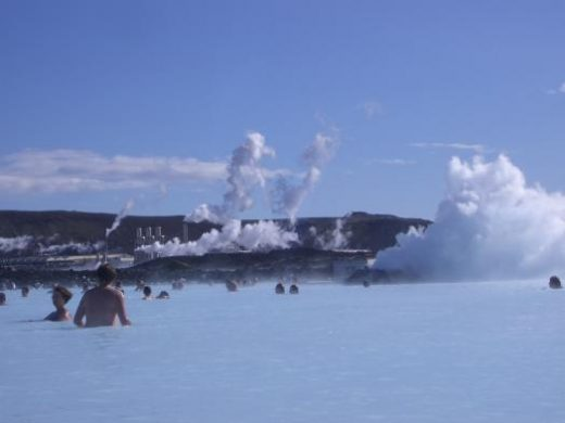 Soak in the warm waters of the Blue Lagoon