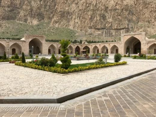 Visit a Caravanserai on the drive to Yazd