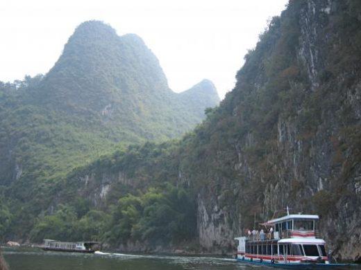 Boat on Li River