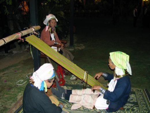 Visit the Padaung women