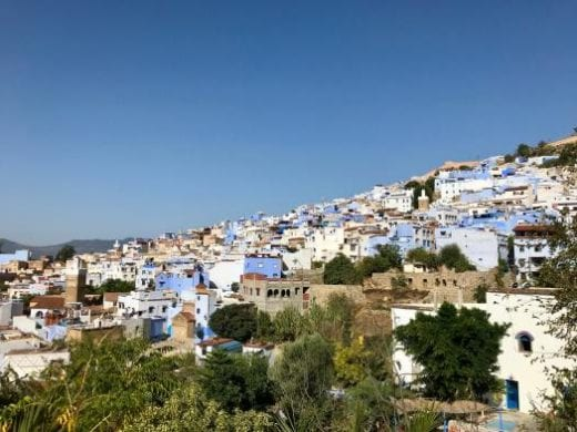 Beautiful city of Chefchaouen