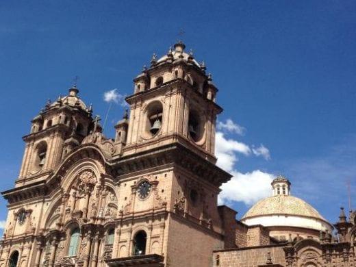 Beautiful architecture of Cusco