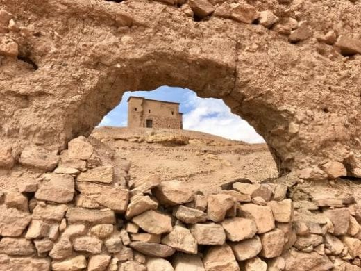 The Ait Ben Haddou kasbah ruins