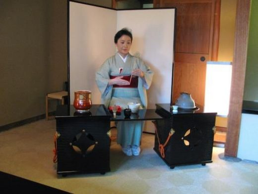 Witness a traditional tea ceremony