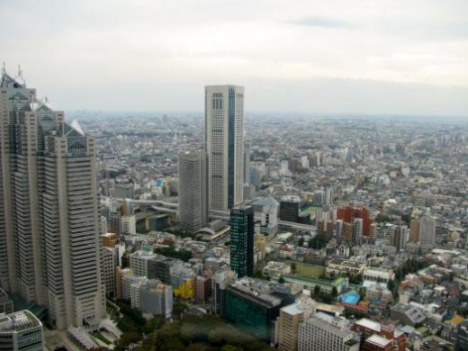Get a bird's eye view of Tokyo from the Skytree