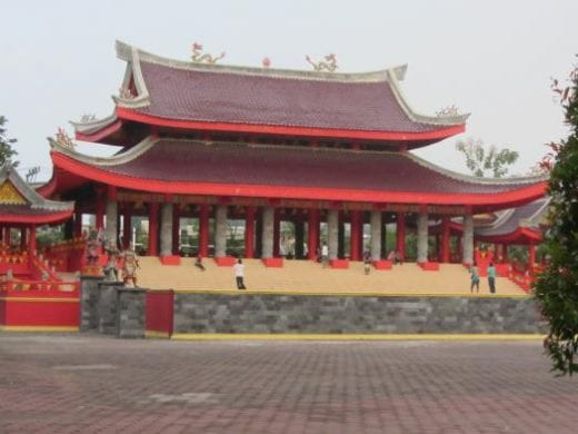 Chinese temple in Semarang