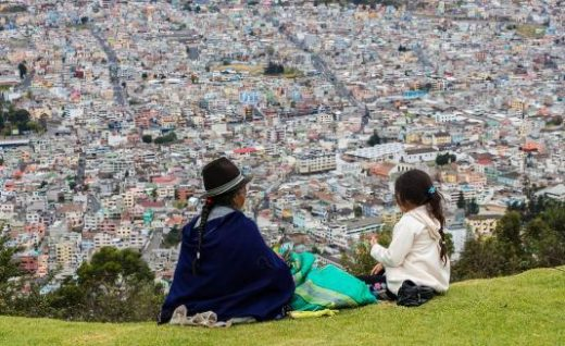 The Andean city of Quito