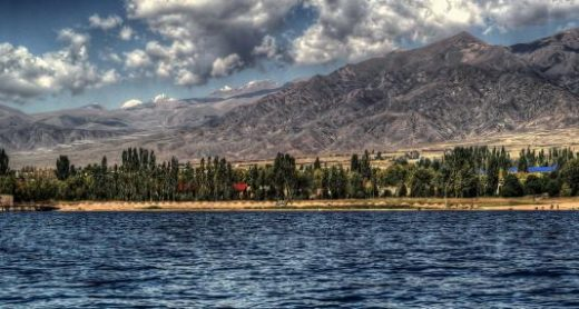 Enjoy beautiful Lake Issyk-Kul