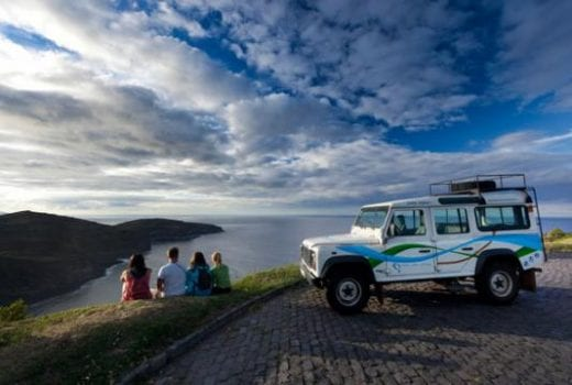 Get amazing views during your jeep safari