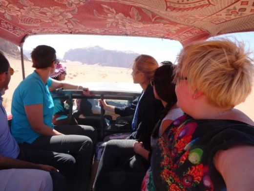 See Wadi Rum via a jeep safari